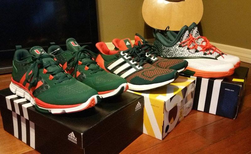6521f6b107e The Miami Hurricanes Got Their Own adidas Ultra Boost PE | Nice Kicks