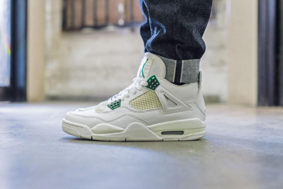 6aab15e7095 On-Foot Look #TBT Edition // Air Jordan 4
