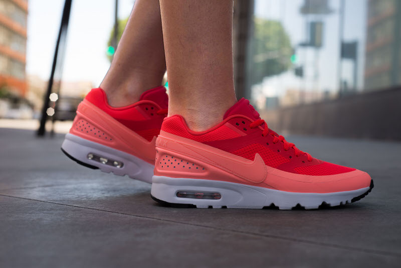 """new concept 95440 22ddb On-Foot Look  Nike Air Max BW Ultra """"Bright Crimson"""""""