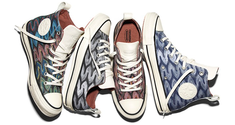 Missoni x Converse The Flame Collection