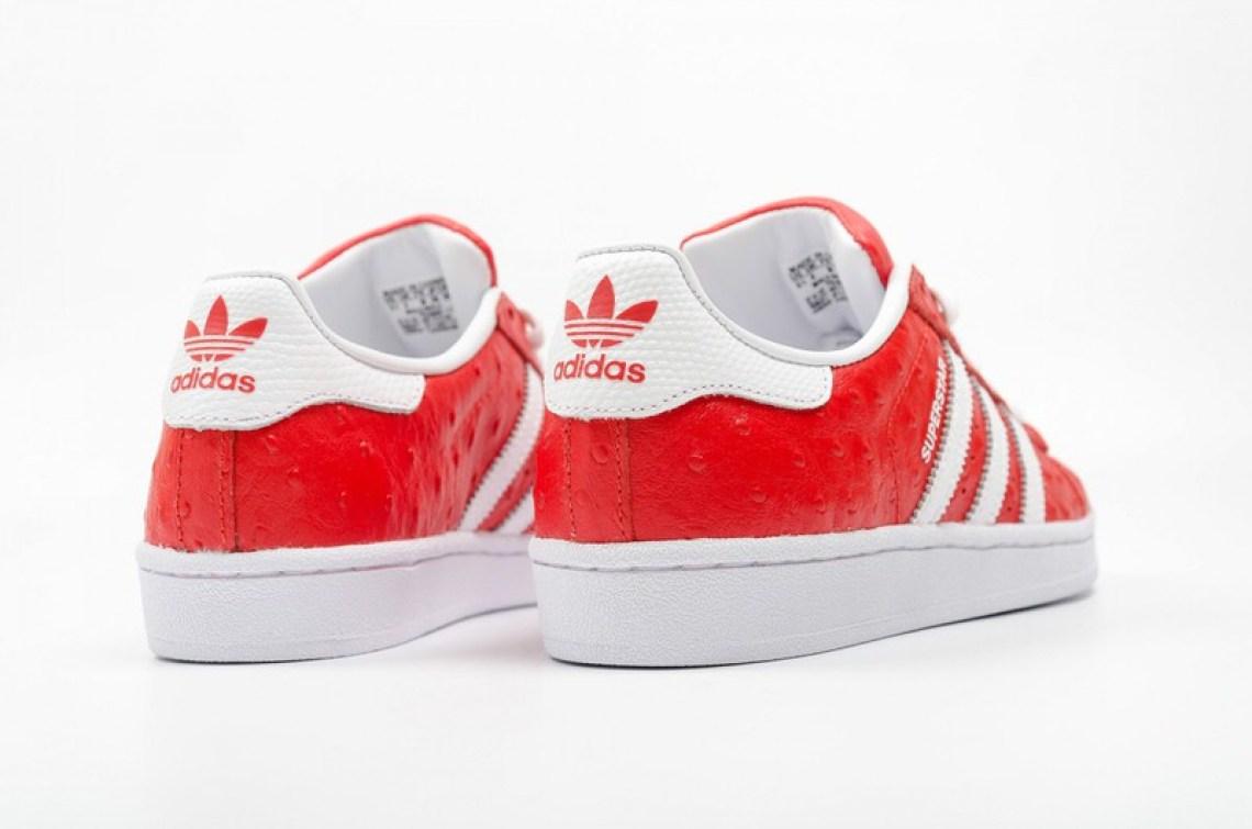 adidas Superstar Animal Red
