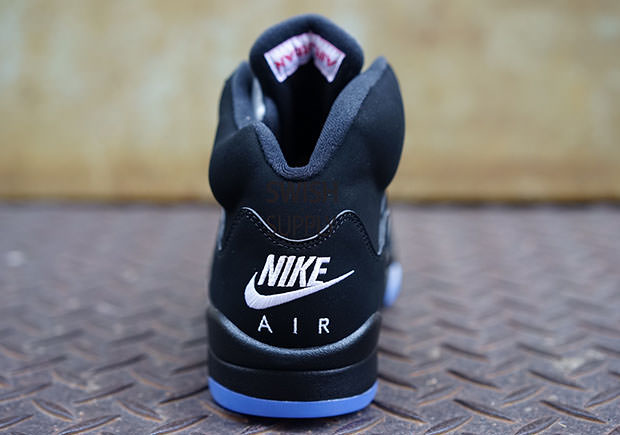 d7320481db262a The Air Jordan 5 Black Metallic Silver with Nike Air is Coming This ...