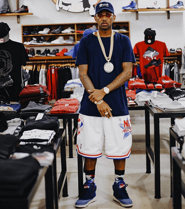 "Fabolous in the Ewing 33 High ""All-Star"""