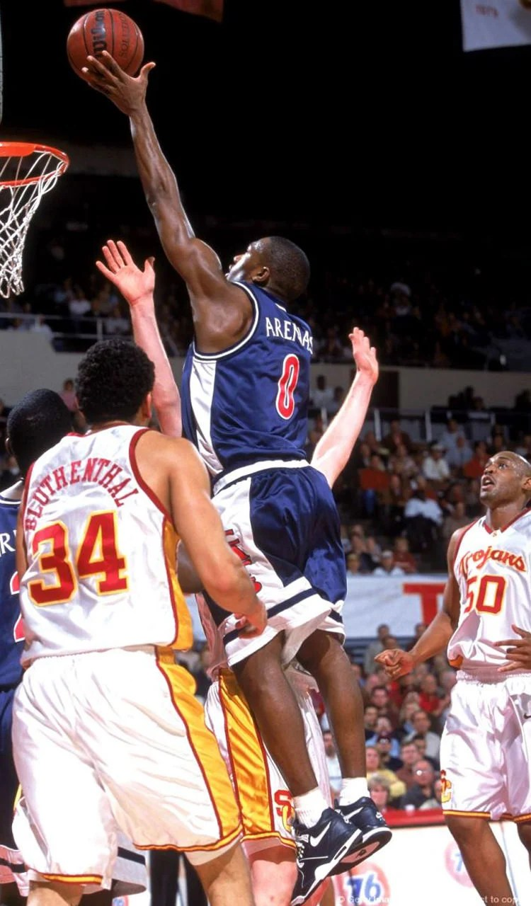 Gilbert Arenas in the Nike Air Flight 89