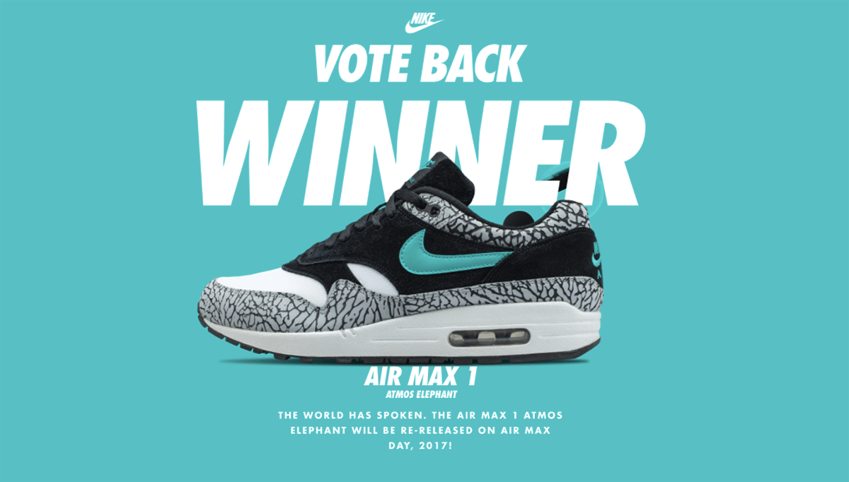 meet 5f847 62bb2 Nike Air Max 1 Atmos