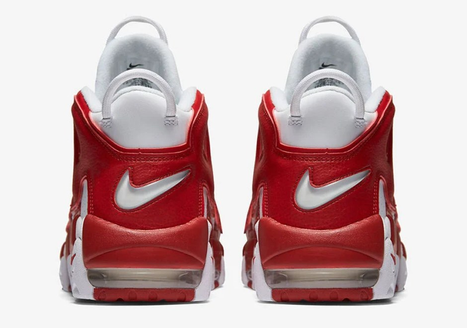 Nike Air More Uptempo White Varsity Red    Coming Soon  1621138af