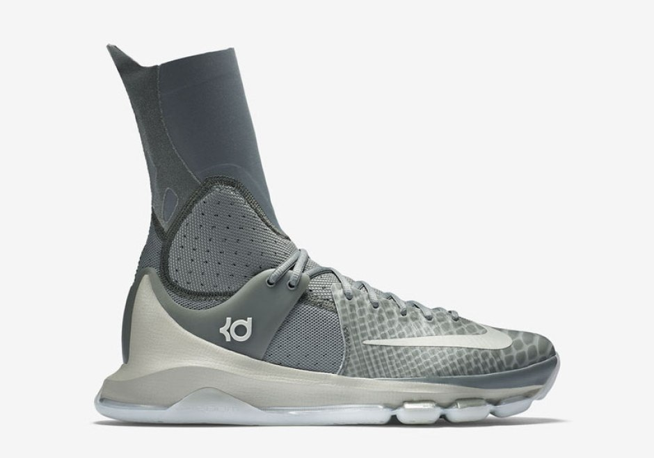 Nike KD 8 Elite Grey
