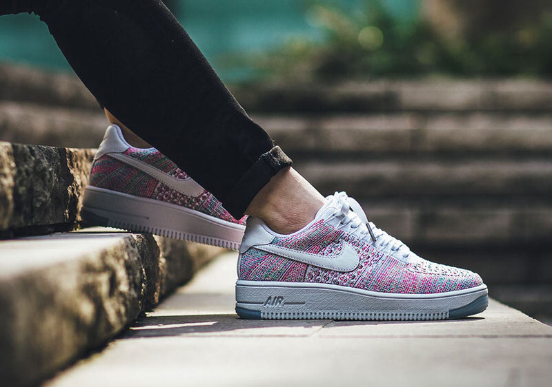Nike Air Force 1 Faible Lunaire Multicolore Flyknit