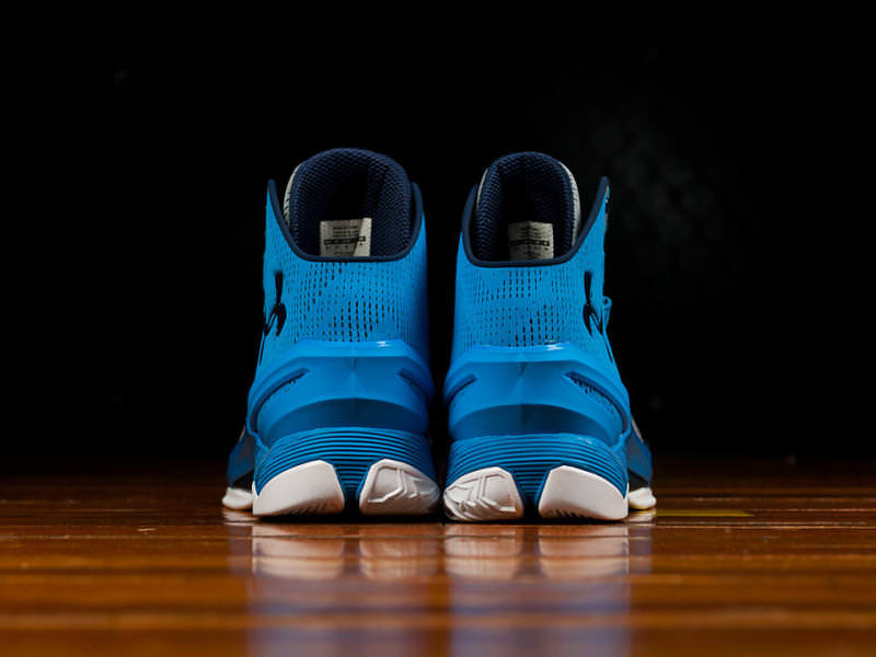 the best attitude 930a4 b6d66 This Under Armour Curry Two Honors the Carolina Panthers ...
