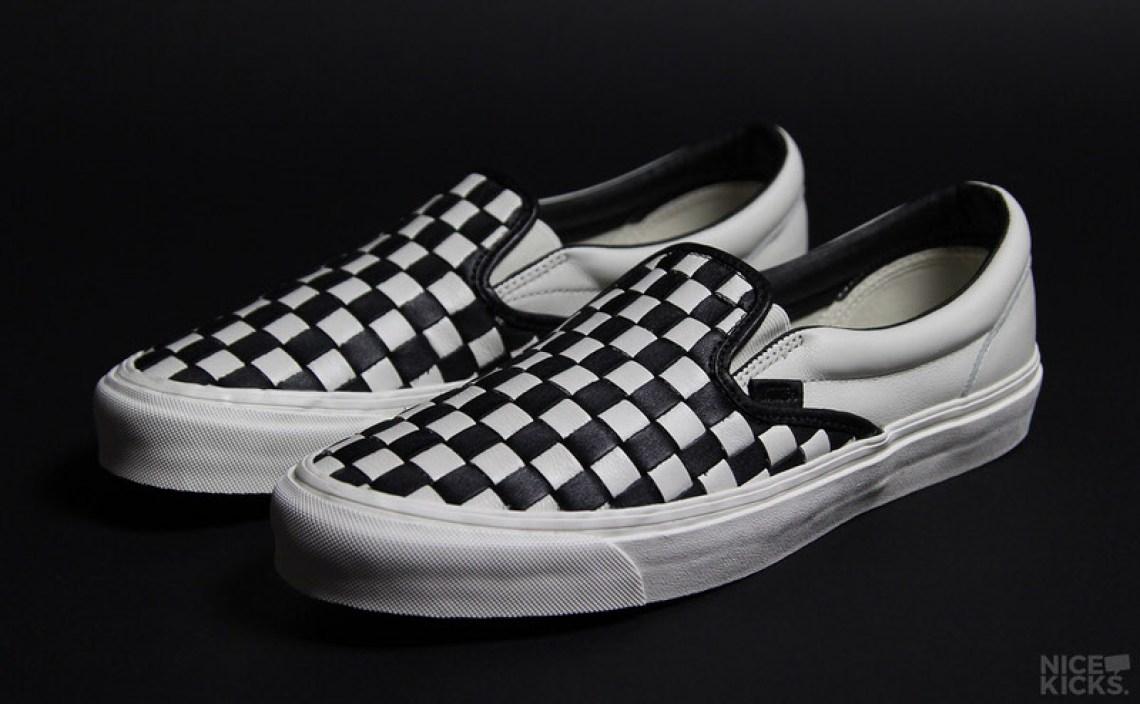 Vans Slip-On Checkerboard Woven