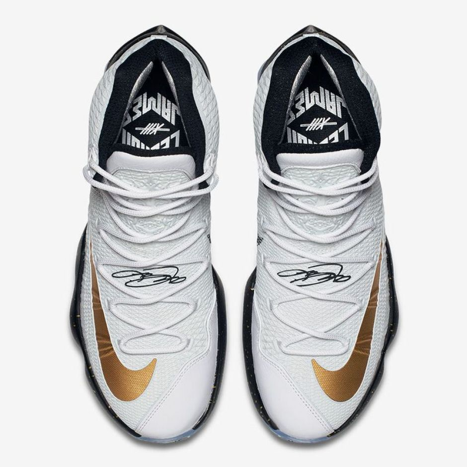 Nike LeBron 13 Elite Metallic Gold