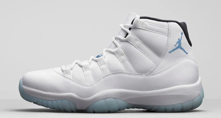 buy online ba56b d8ab4 Air Jordan 11 Legend Blue
