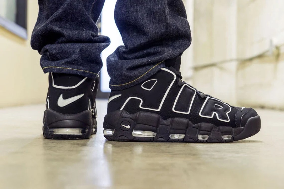 Nike Air More Uptempo OG On-Foot Look
