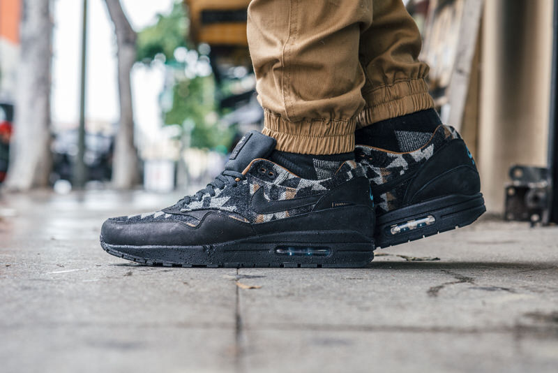 18de9c0374 On-Foot Look // Pendleton x Nike Air Max 1   Nice Kicks