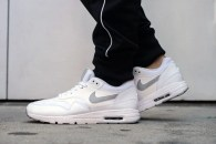 Nike Air Max 1 Ultra Essential White/Pure Platinum On-Foot Look
