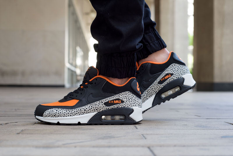 "check out de360 84e13 On-Foot Look    Nike Air Max 90 Essential ""Safari"""