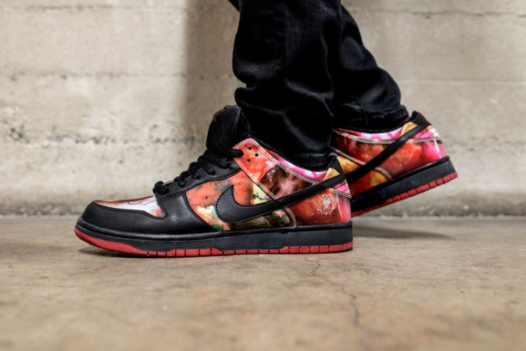 "Nike SB Dunk Low ""Pushead"" On-Foot Look"