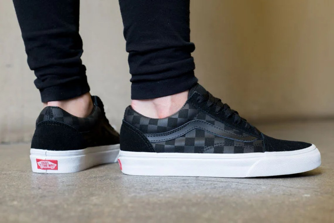 "Vans Old Skool ""Tonal Check"" On-Foot Look"