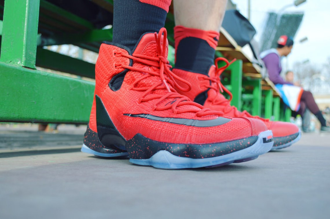 Nike LeBron 13 Elite Red