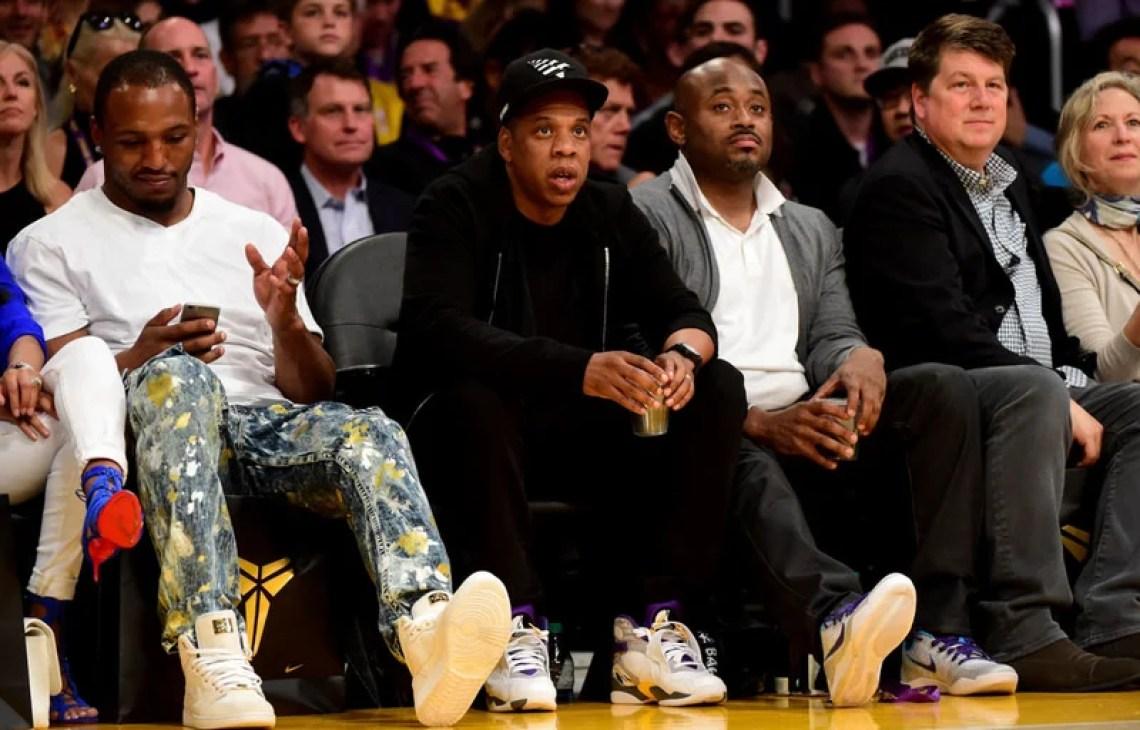 ... Jay-Z in the Air Jordan 8
