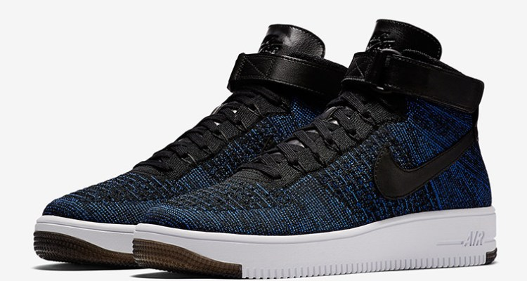 outlet store 1e7bd 3aab9 Nike Air Force 1 Ultra Flyknit Mid Game Royal | Nice Kicks
