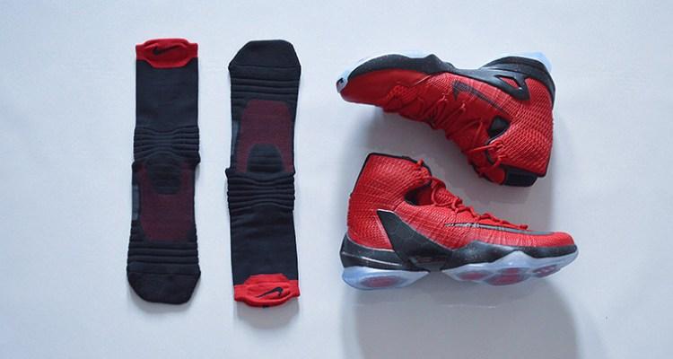 sale retailer 4be59 d9131 Nike LeBron 13 Elite Red