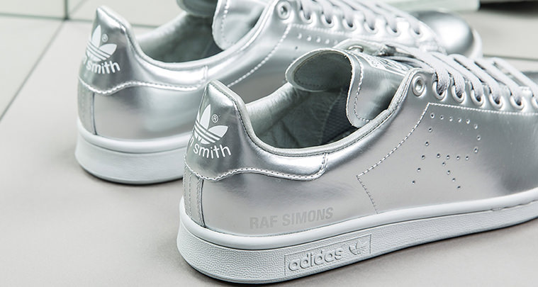 adidas stan smith zwart zilver