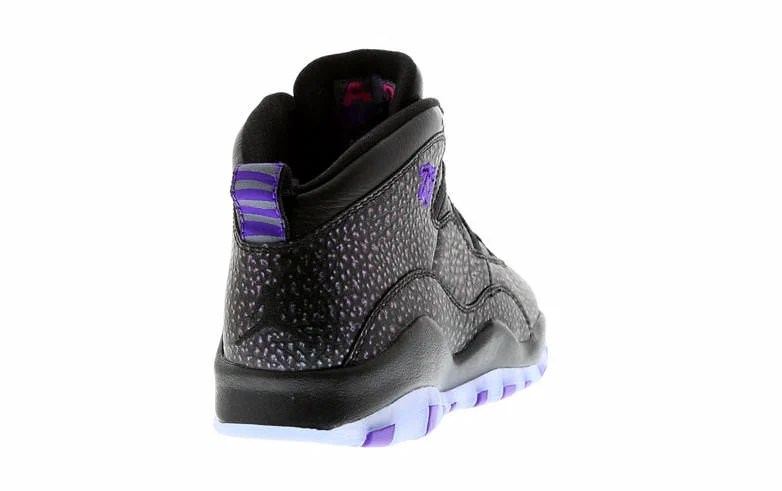 bb49988a28e ... low price air jordan 10 black fierce purple air jordan 10 black fierce  purple 36b59 22d4a