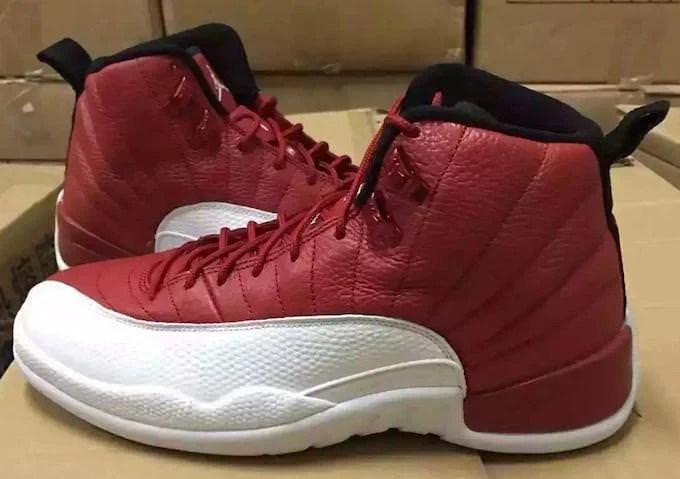9ef808e9eb5 Air Jordan 12 Gym Red/White // Release Date   Nice Kicks