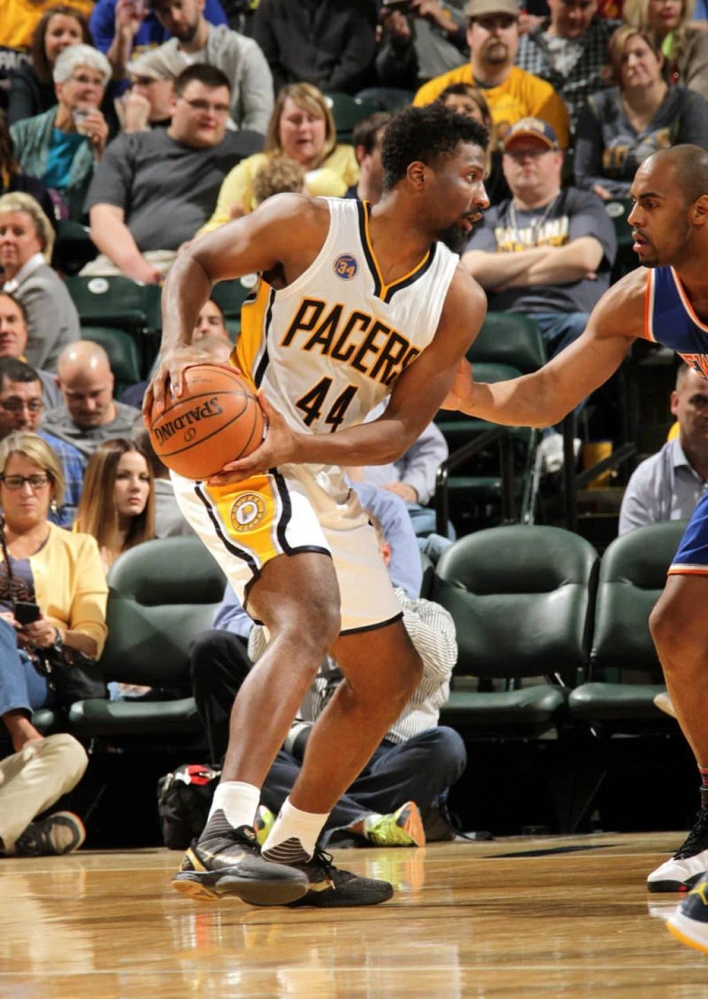 "Solomon Hill wearing the Nike Zoom Kobe VI ""Black History Month"""