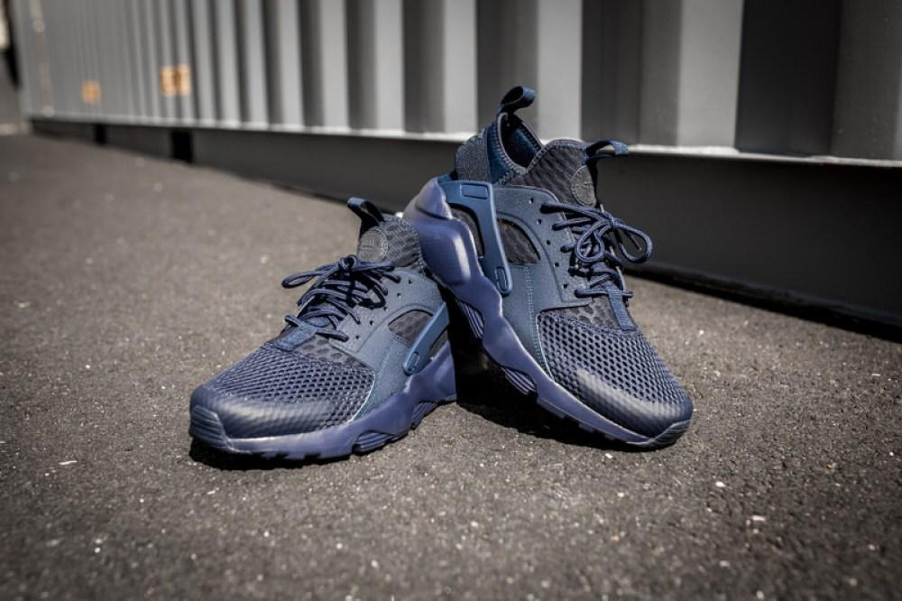 9bb666fd5e915 ... Nike Air Huarache Run Ultra BR Midnight Navy
