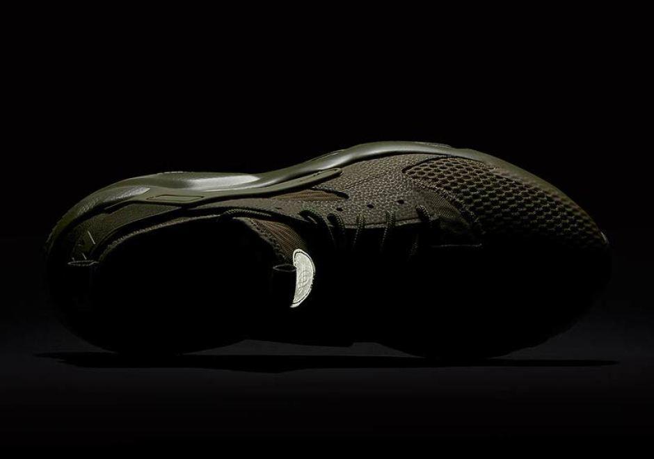 c68fdd55759d0 Nike Air Huarache Ultra BR Goes Military Green
