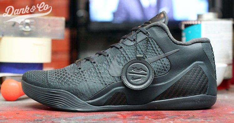 best service f074c d2033 Nike Kobe 9 FTB Low Custom by Dank Customs