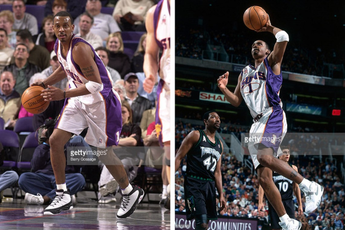 Penny hardaway talks rocking retros on court possible penny photos via getty images sciox Gallery
