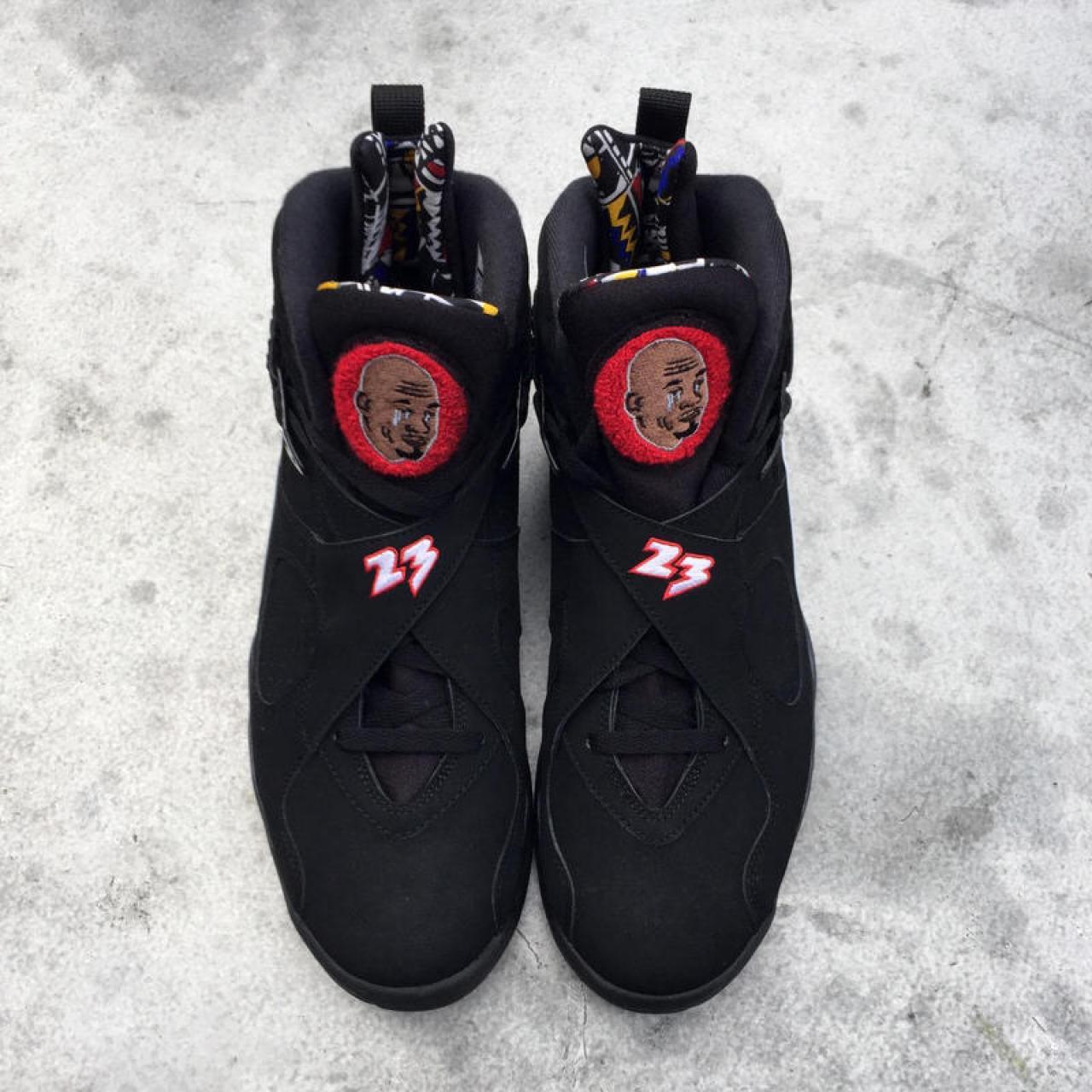 """Crying MJ"" meme custom Air Jordans"