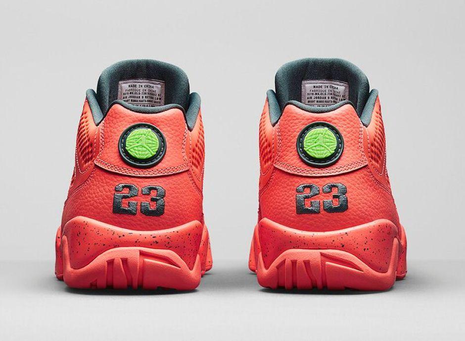 Air Jordan 9 Low Bright Mango