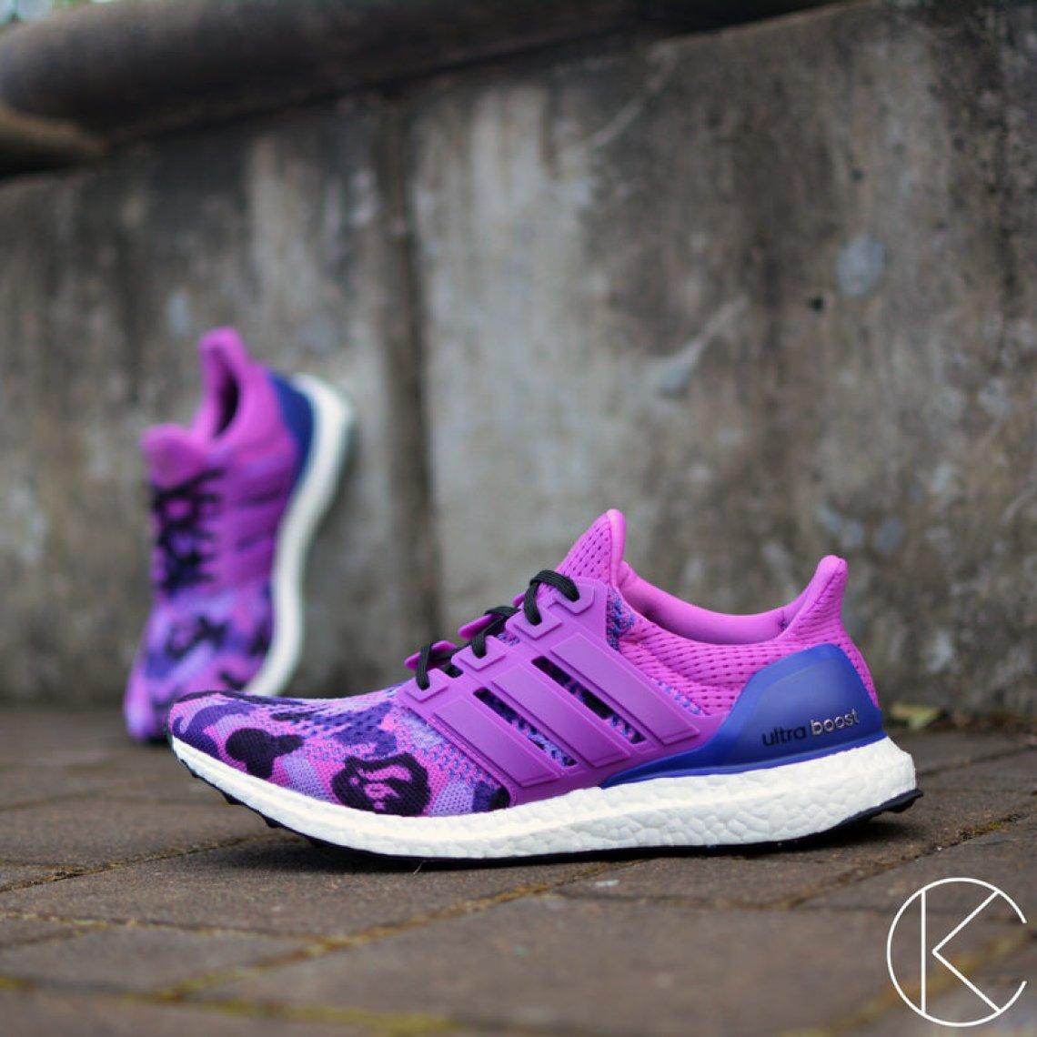 "adidas Ultra Boost ""Bape Camo"" by Kendra's Customs"