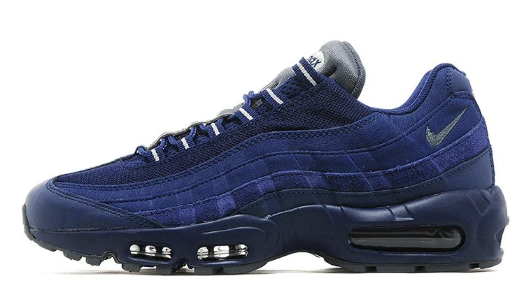 Copuon Nike Air Max 95 Premium Wolf GreySafety Orange Men'S