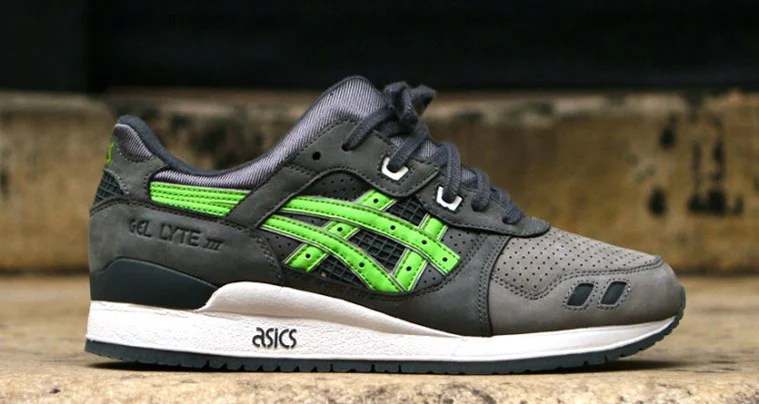 "Ronnie Fieg x ASICS Gel Lyte III ""Super Green"" Releasing for Kith s 5th  Anniversary 79ba7616a03c"