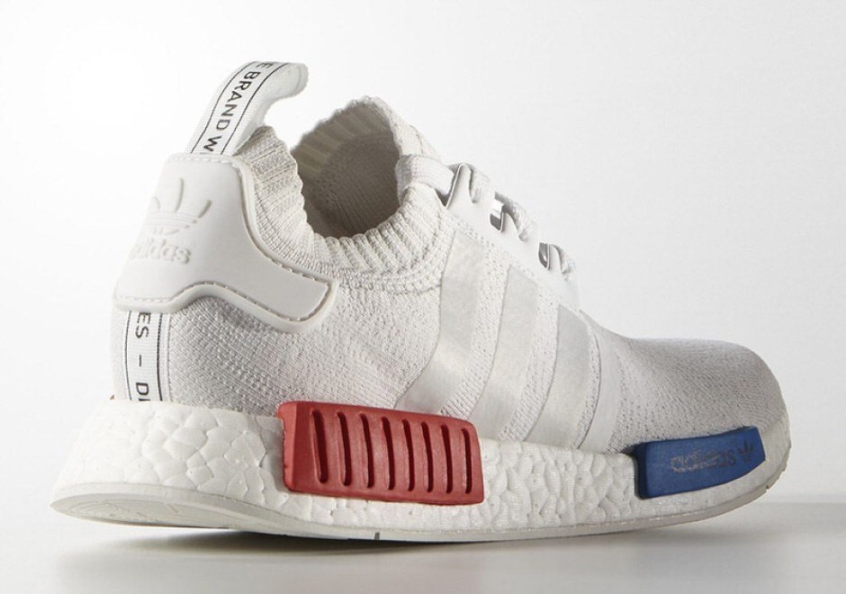 Did Kanye Wear These Adidas NMD R1 Primeknit Triple White