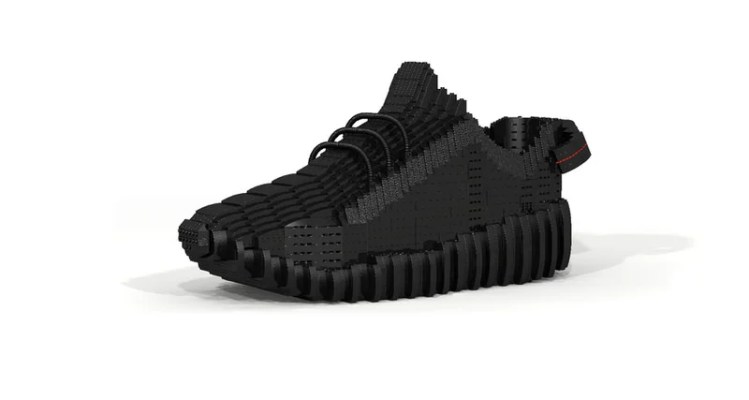 "adidas Yeezy Boost 350 ""Pirate Black"" Gets the LEGO Treatment"