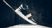 """Filling Pieces Low Top Leather Strap """"Black"""""""