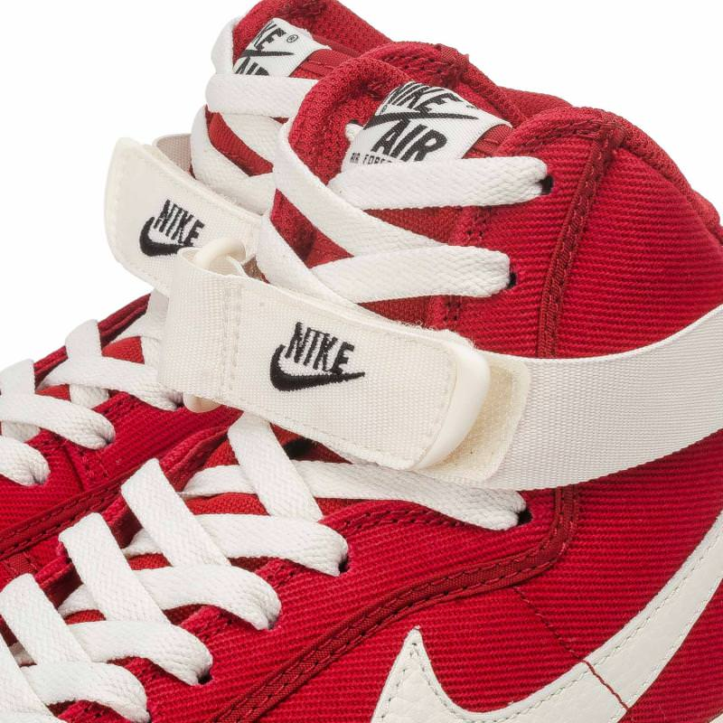 Nike Air Force 1 High Canvas Gym Red   SneakerFiles