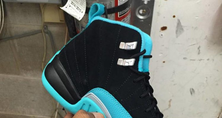 "a562981dfa2046 Air Jordan 12 ""Hyper Jade""    First Look"