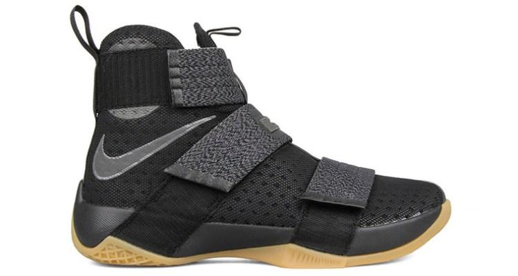 Nike LeBron Solider 10 Black Gum