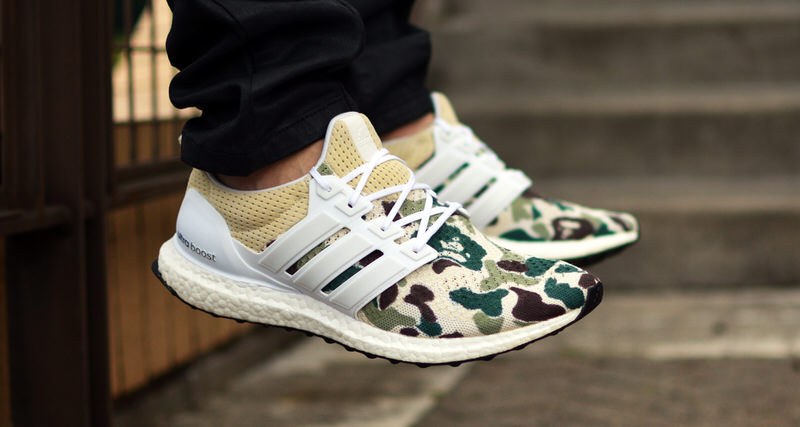 pick up 477d2 c9100 Kendra s Customs Crafts Another Bape-Inspired Ultra Boost