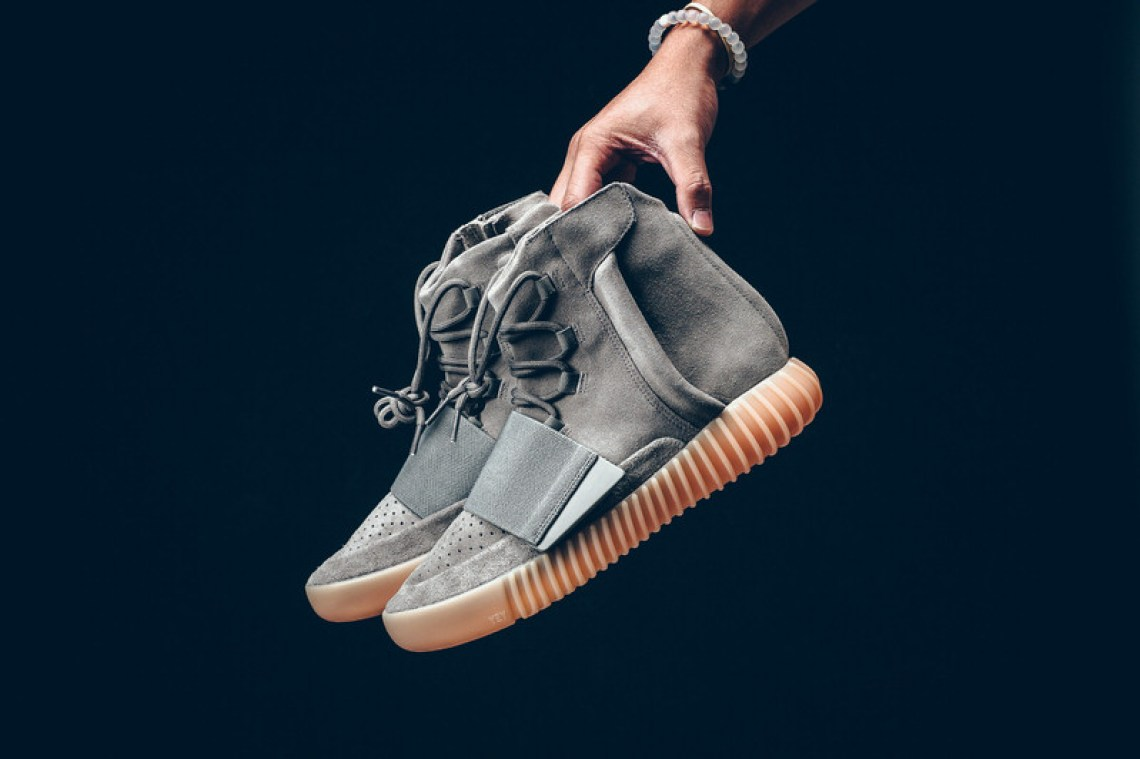 4ff739e1364 This Weekend s adidas Yeezy Boost 750 Really Does Glow in the Dark ...