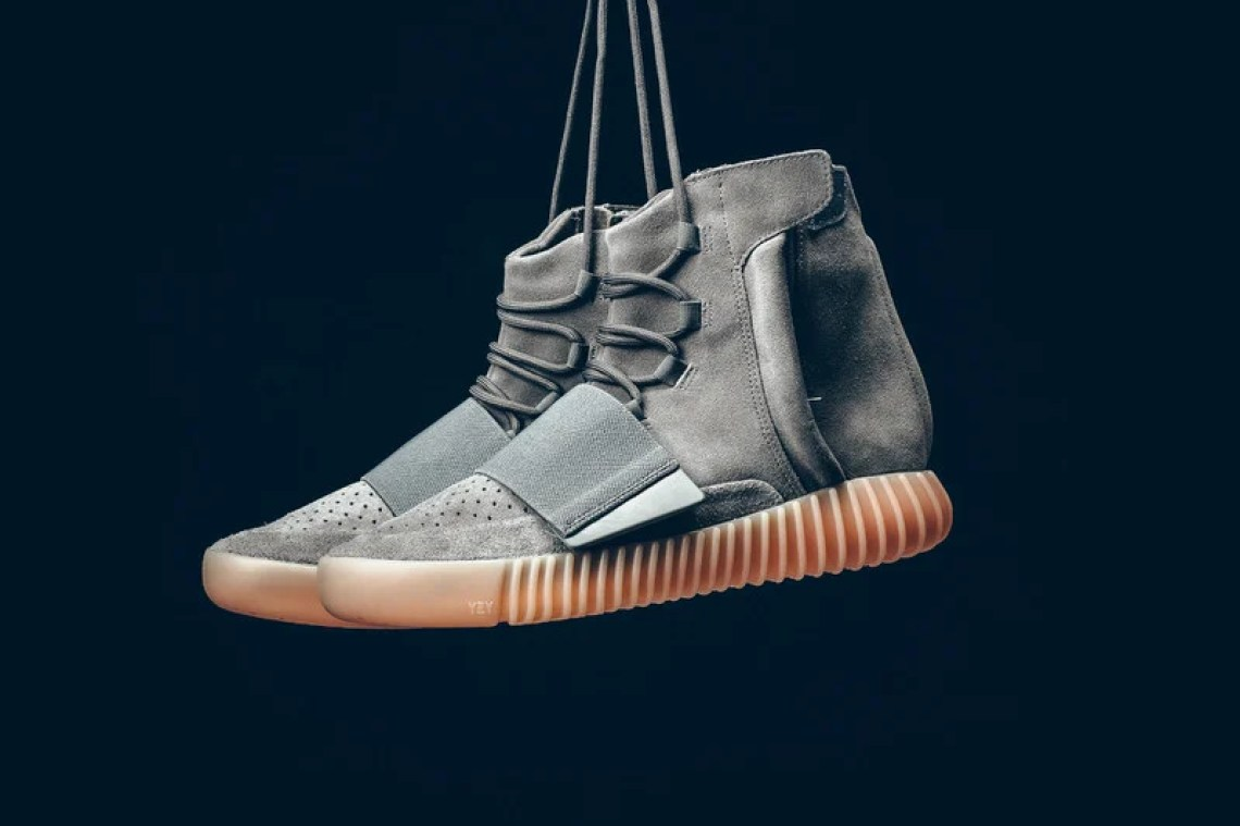 957ed27c731e41 This Weekend s adidas Yeezy Boost 750 Really Does Glow in the Dark ...