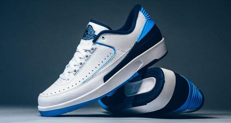"607ba3e7d45 Air Jordan 2 Low ""University Blue"" // Another Look"