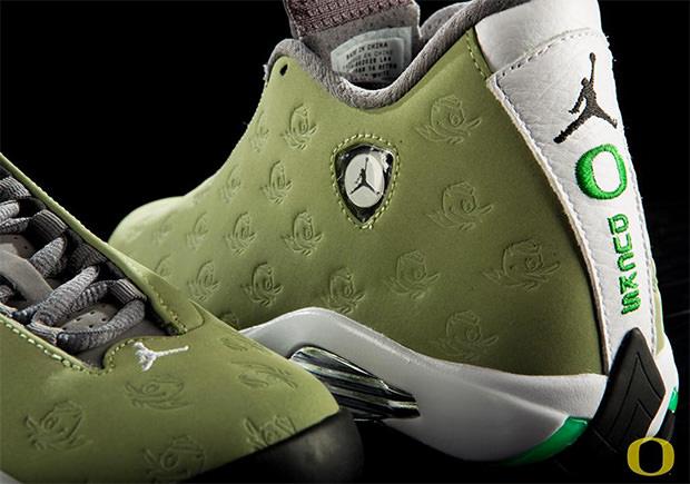 """Air Jordan 14 """"Oregon"""" Track & Field PE ..."""